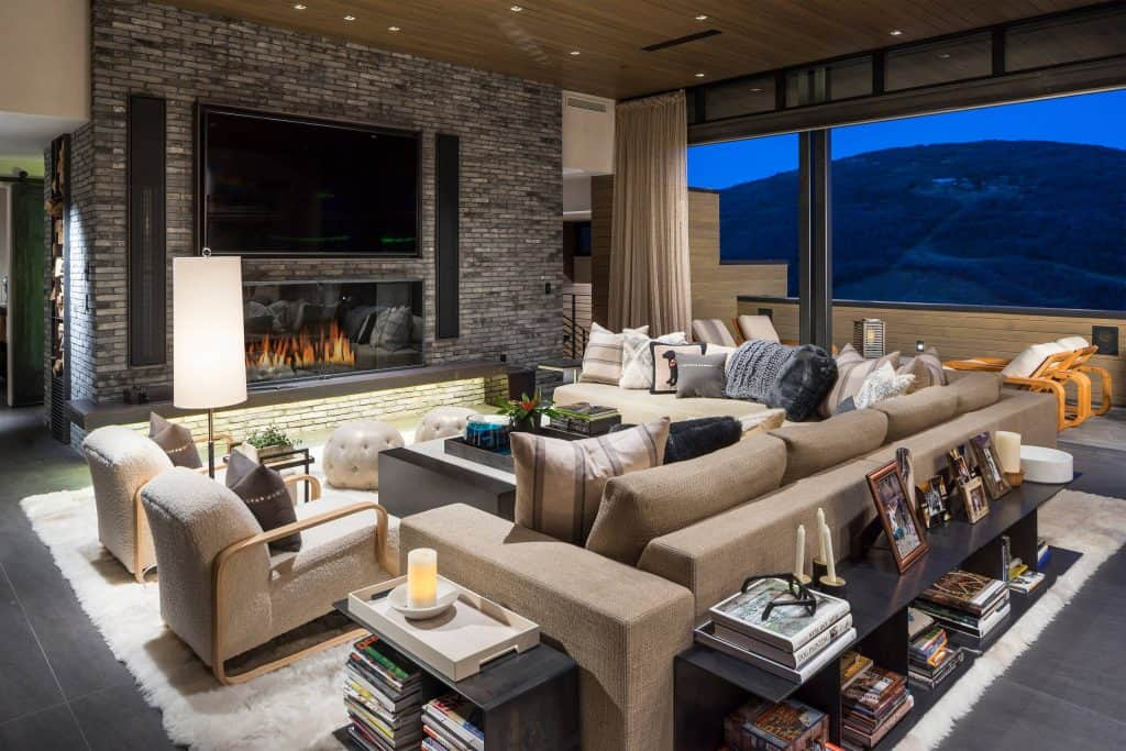 Modern And Cozy, Plush And Furry Cozy Living Room