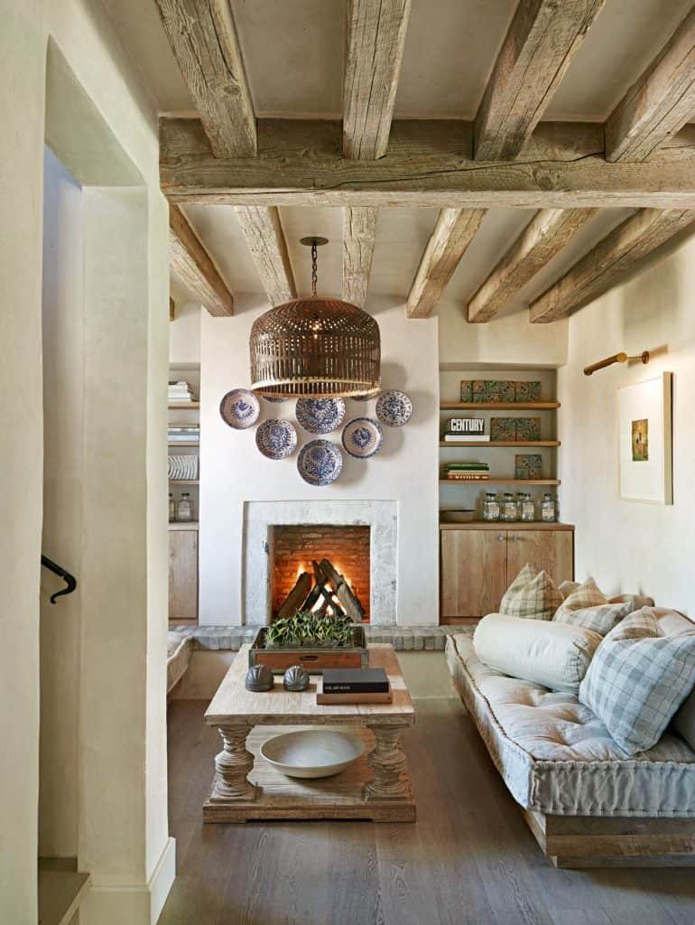 Soft, Warm and Cozy Living Room Idea