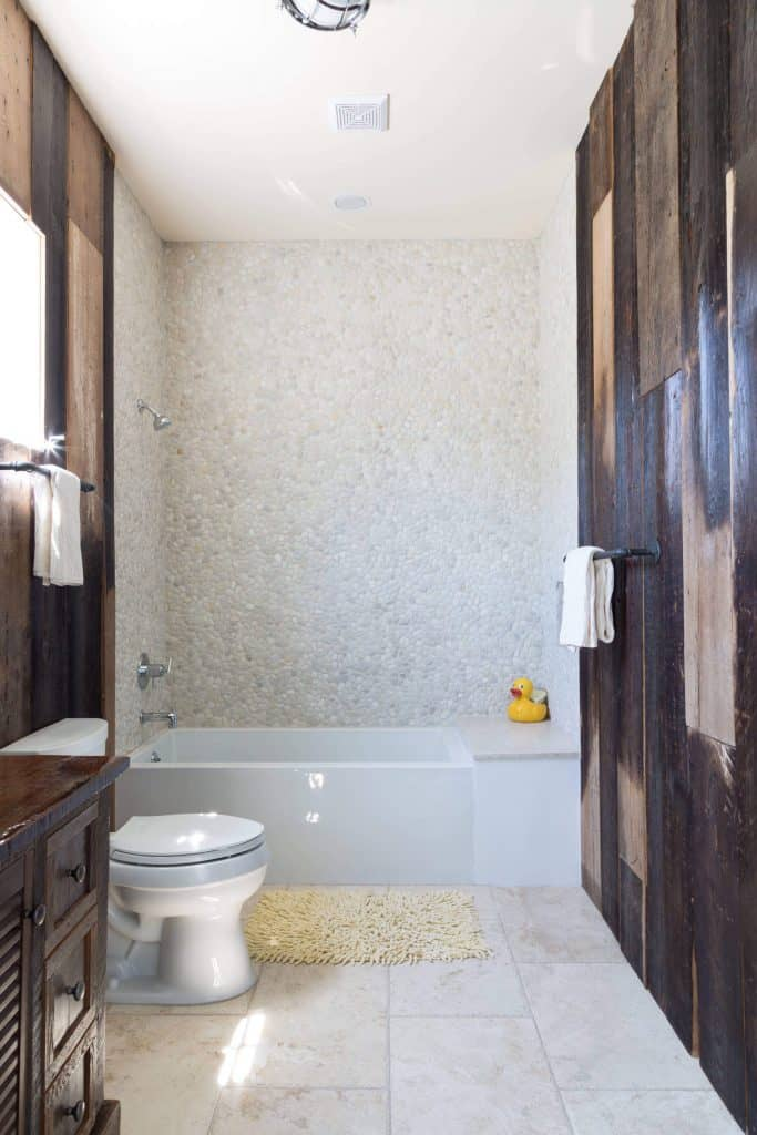 Shower Ideas with Freckled Pebble Tiles