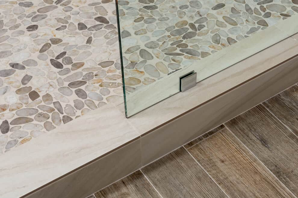 3 Texture Tile Mix - River Stone, Marble, Faux Tile Wood