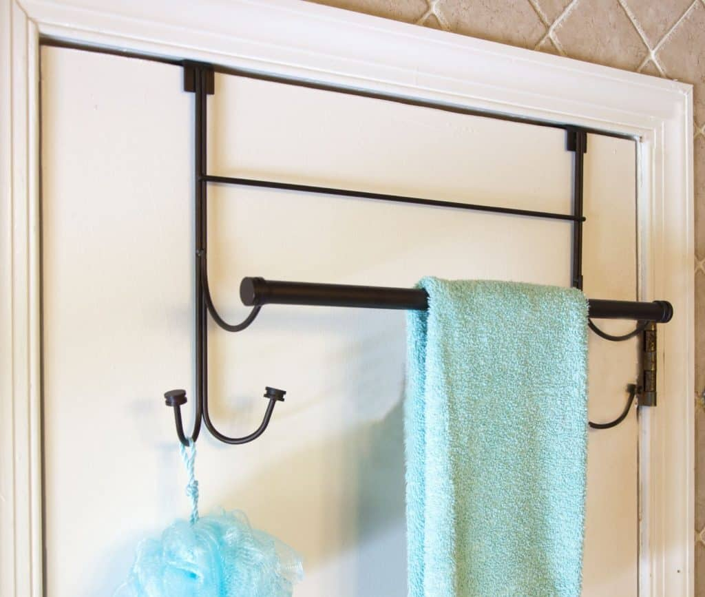 BathSense Over the Door HookTowel Bar Combo