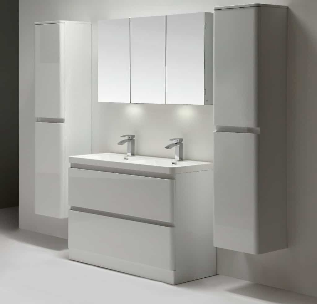 Eviva Glazzy® 48 Floor Mount Bathroom Vanity