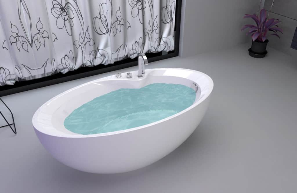 Quick and easy guide to clawfoot bathtubs pics tips for Acrylic soaker tub