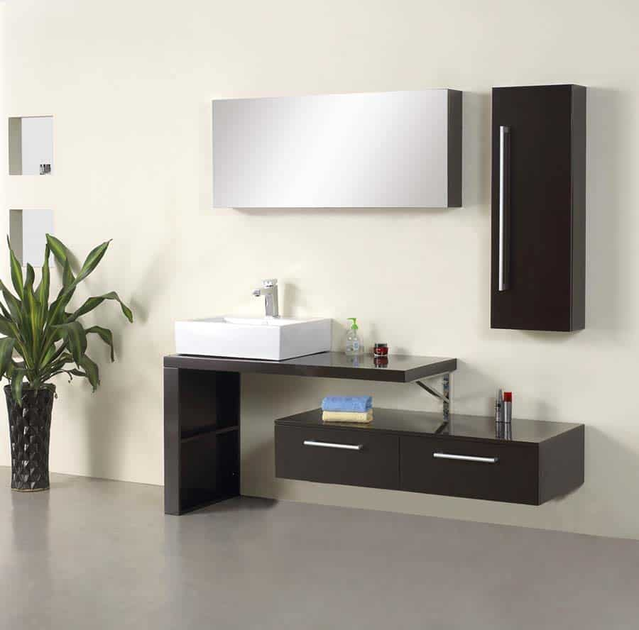 Mirage Modern Bathroom Vanity Set