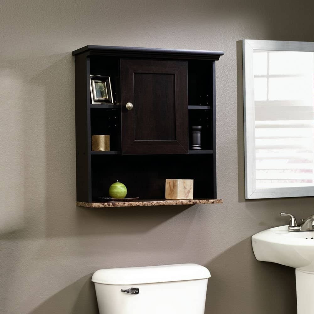 200 bathroom ideas remodel decor pictures - Cherry finish bathroom wall cabinet design ...