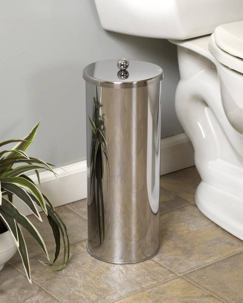 Zenna Home 7666ST, Toilet Paper Canister