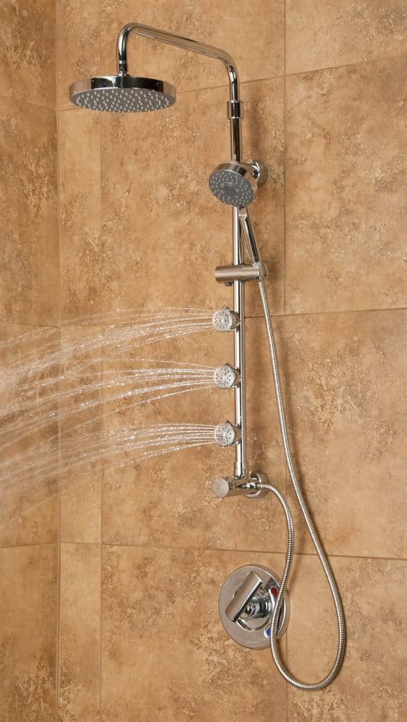 PULSE ShowerSpas 1028 Chrome Shower System - Lanikai ShowerSpa