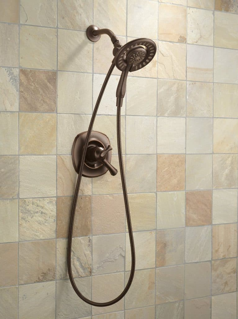Delta 58065-RB In2ition® 4-Setting Two-in-One Handshower Showerhead