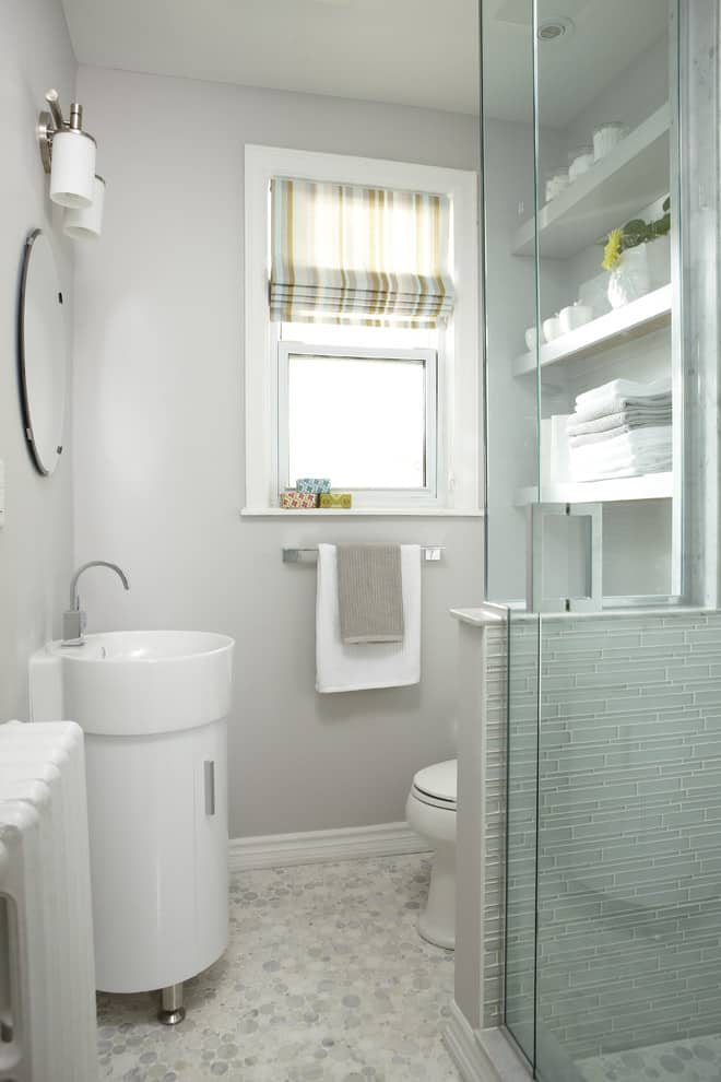 The Small Bathroom Ideas Guide Space Saving Tips Tricks - Big towels for small bathroom ideas