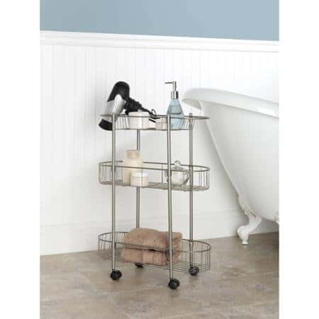 Rolling Bathroom Cart