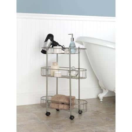 Rolling Bathroom Cart