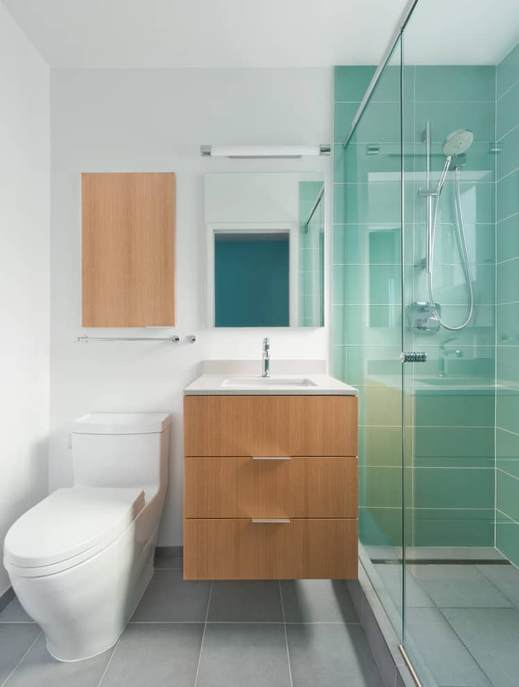 The small bathroom ideas guide space saving tips tricks Tiny bathroom