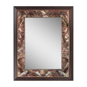 Lovely Head West Tropical Leaf Mirror