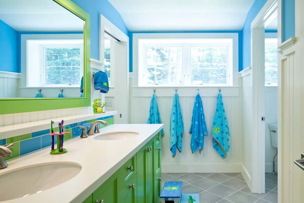 kid's bathroom ideas, themes, and accessories photos, Bathroom decor