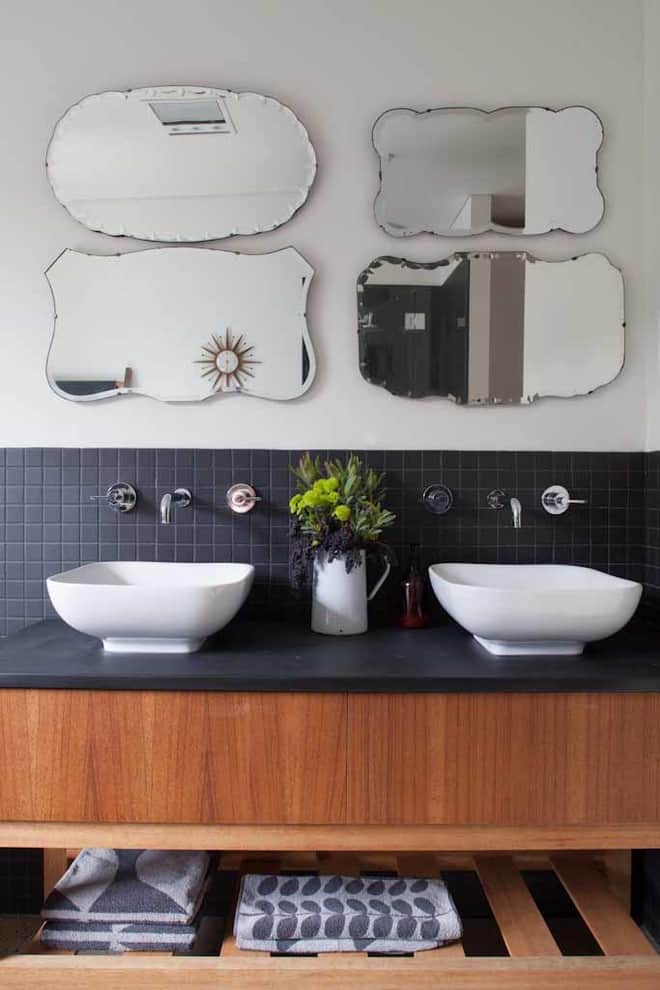 Multiple Bathroom Mirror Ideas