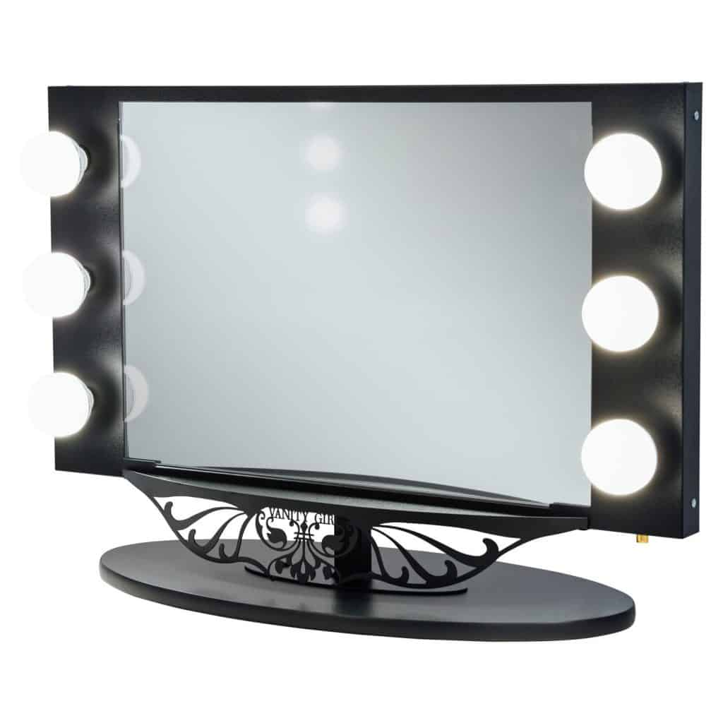 Ideas for making your own vanity mirror with lights diy or buy starlet lighted vanity mirror aloadofball Image collections