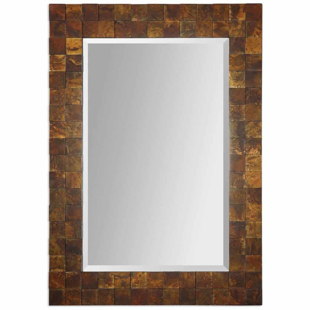 Uttermost 07057 Ambrosia Mosaic Bathroom Mirror