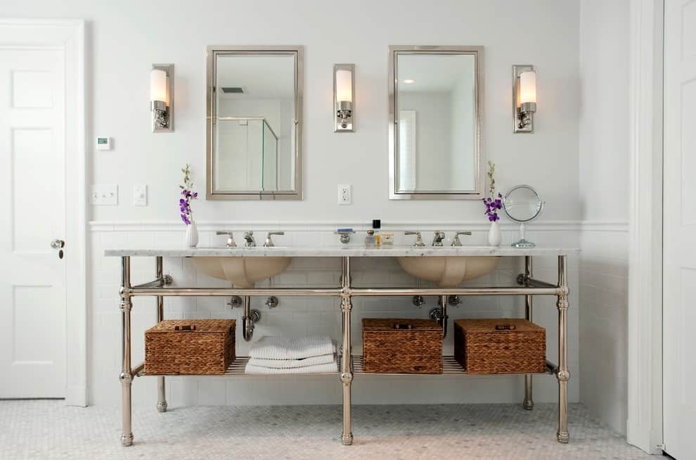 Bathroom Mirror Ideas Double Vanity 25+ beautiful bathroom mirror ideasdecor snob