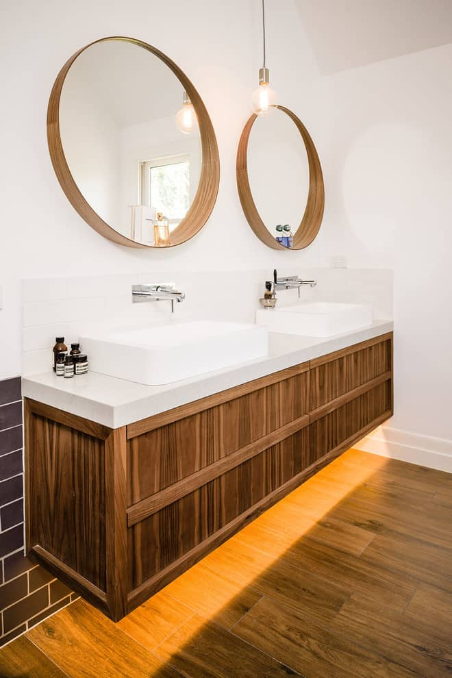 25 beautiful bathroom mirror ideas by decor snob - Ikea salle de bain miroir ...