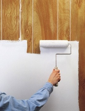 4 popular wood paneling cover up ideas secret tips Priming walls before painting