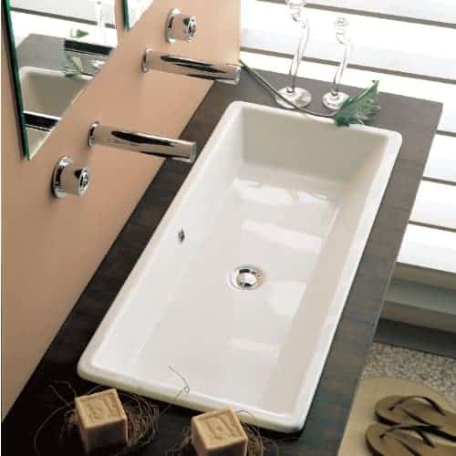 Scarabeo Scarabeo 8033-No Hole-637509861285 Porcelain Ceramic Sink Vessel