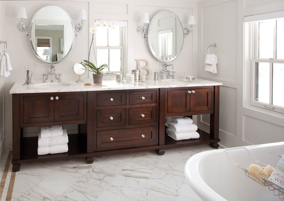 Marvelous The Best Oval Mirrors For Your Bathroom