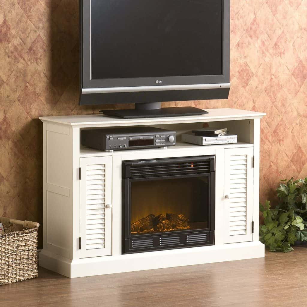 antebellum media electric fireplace - Electric Fireplace With Mantel