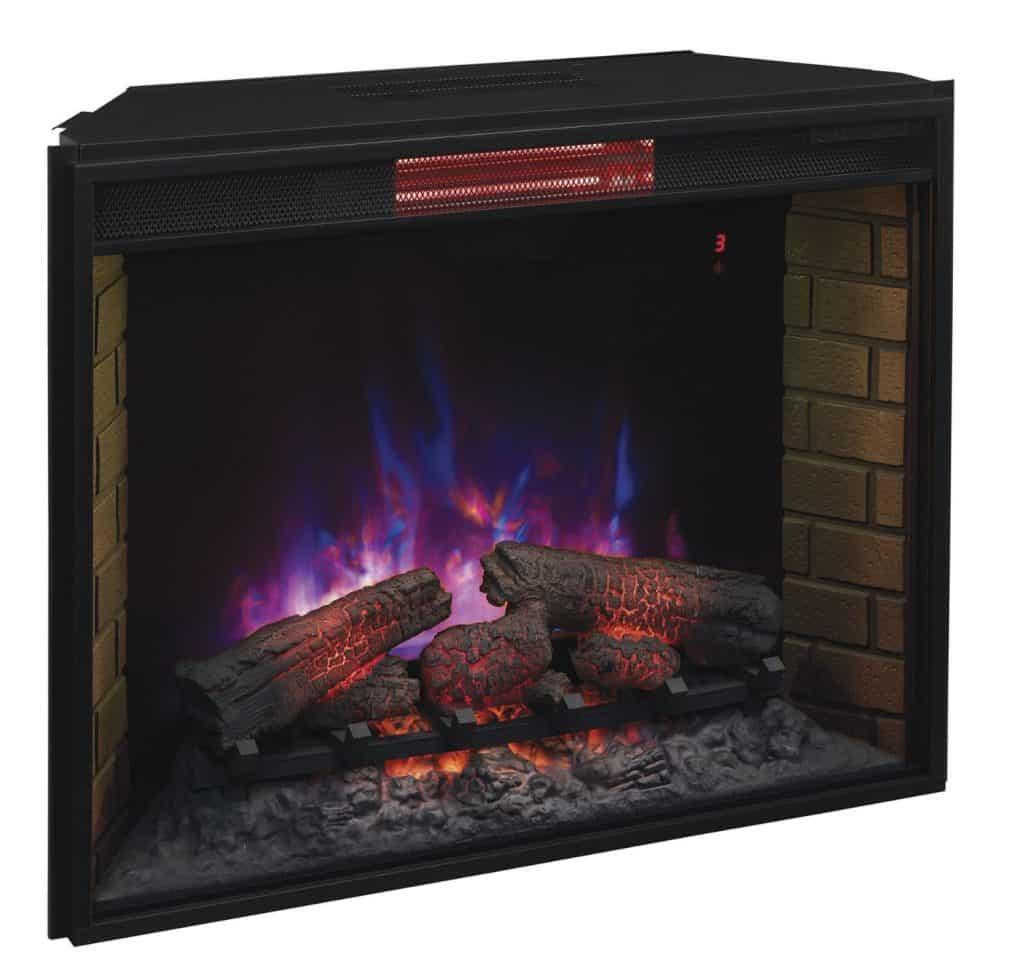 ClassicFlame 33II310GRA 33 Infrared Quartz Fireplace Insert