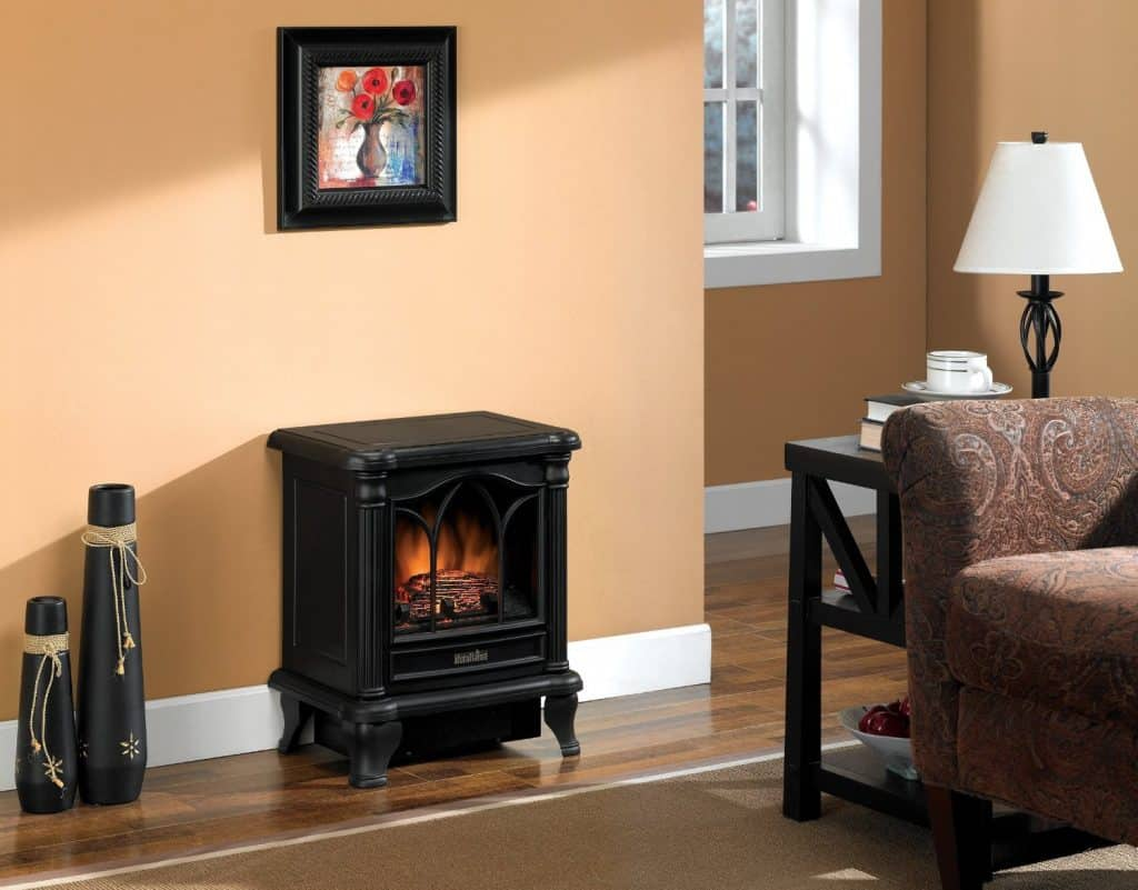Duraflame DFS-450-2 Carleton Electric Stove with Heater