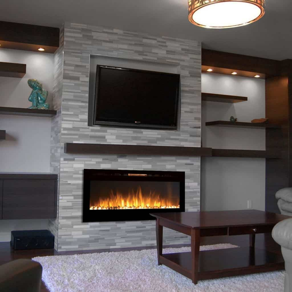 Alternative Modern Ethanol amp Electric Fireplaces Decor Snob : Gibson Living GL2050WS Sydney 50 Inch Pebble Recessed Pebble Wall Mounted Electric Fireplace 1024x1024 from www.decorsnob.com size 1024 x 1024 jpeg 117kB