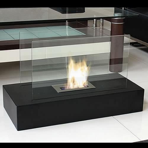 pros cons modern electric fireplaces vs ethanol fireplace inserts decor snob. Black Bedroom Furniture Sets. Home Design Ideas