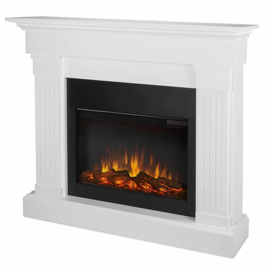 Real Flame 8020E-W Crawford Electric Fireplace