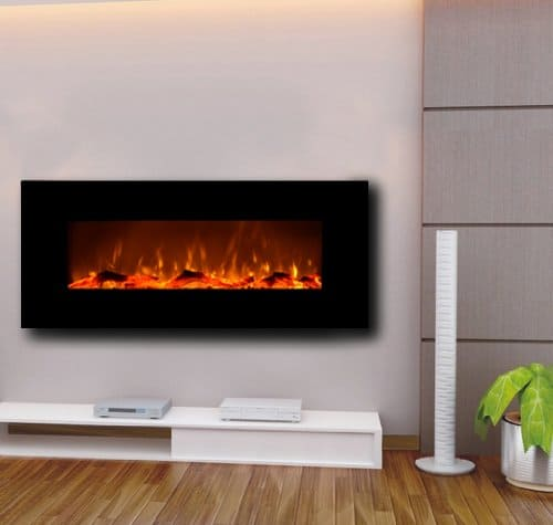 Touchstone 50 Onyx Electric Wall Mounted Fireplace
