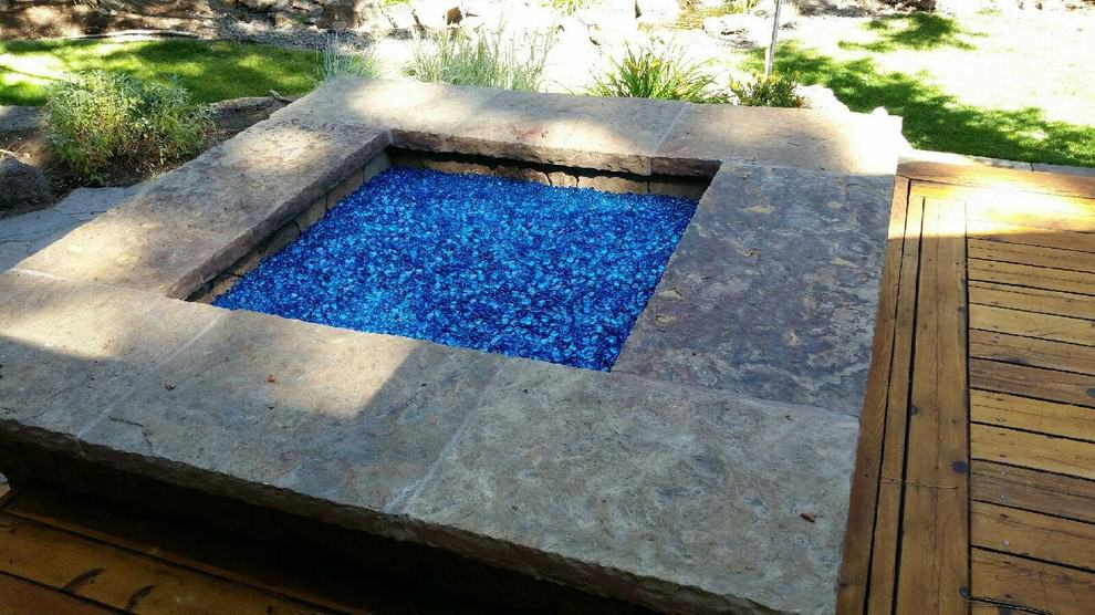 firepit glass rocks. Source: Fire Pit Essentials - Gas Logs, Inserts, And Glass Rock Fireplace Ideas