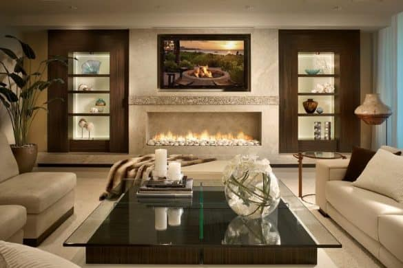 fireplace log ideas