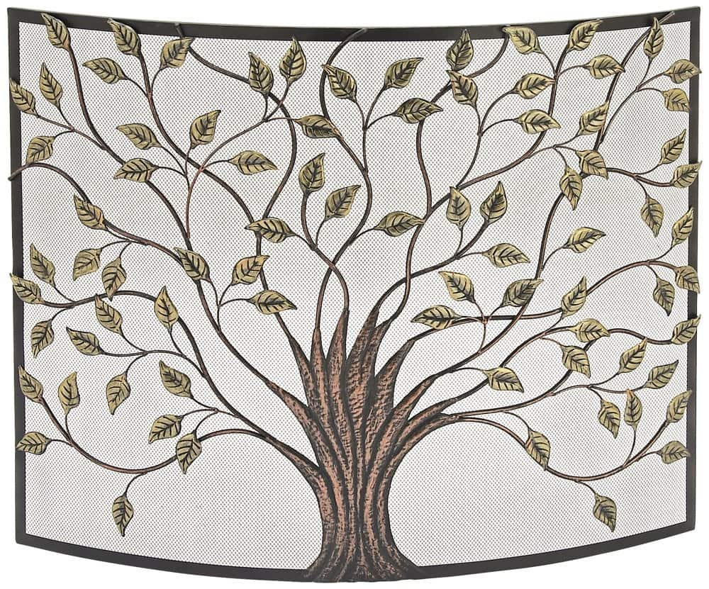Deco 79 44543 Metal Fire Screen