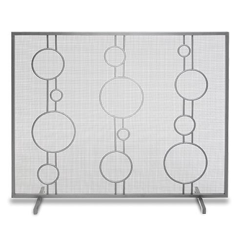 Single Panel Luna Screen- Polished Stainless Steel
