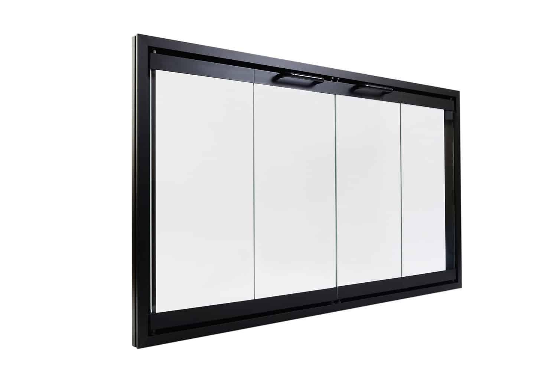 Superior Bi-Fold Glass Fireplace Door,