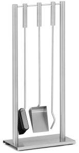 ZACK 50026 GHIO fire tool set 4pcs stand, poker, broom, dust shovel