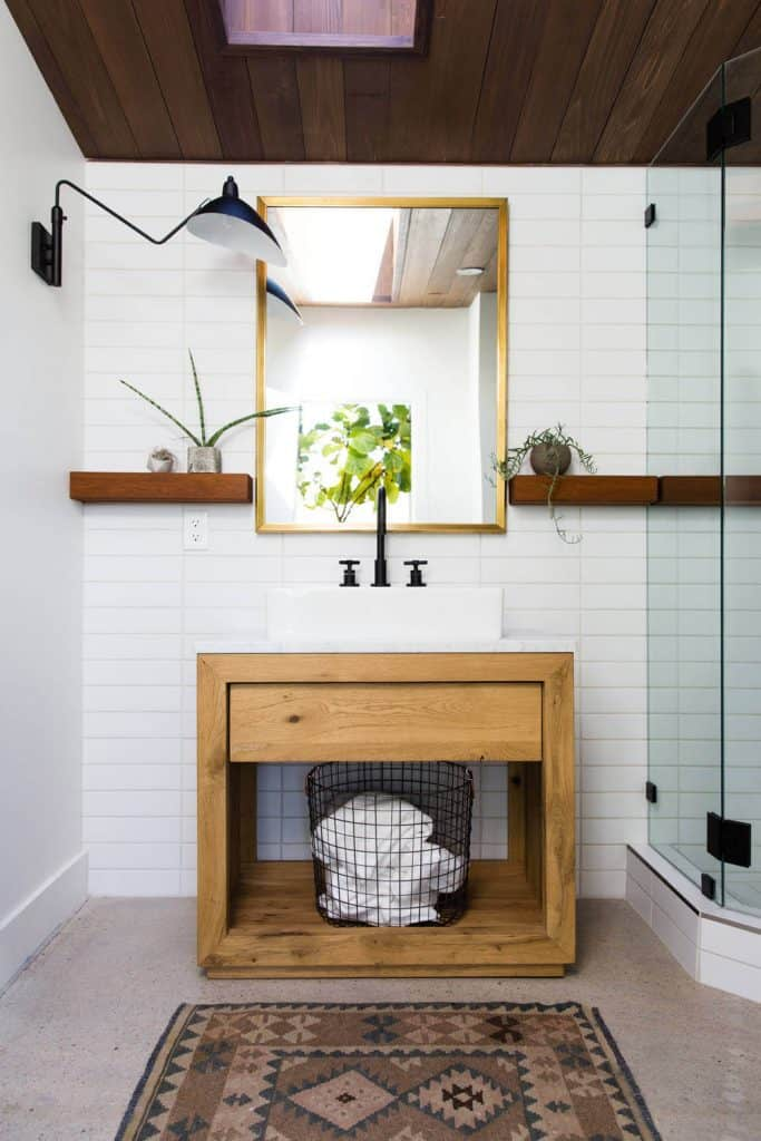 Casual Basket for Towel Storage