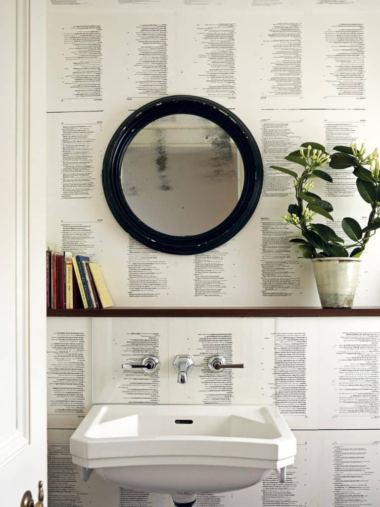 Minimal Over-Sink Shelf