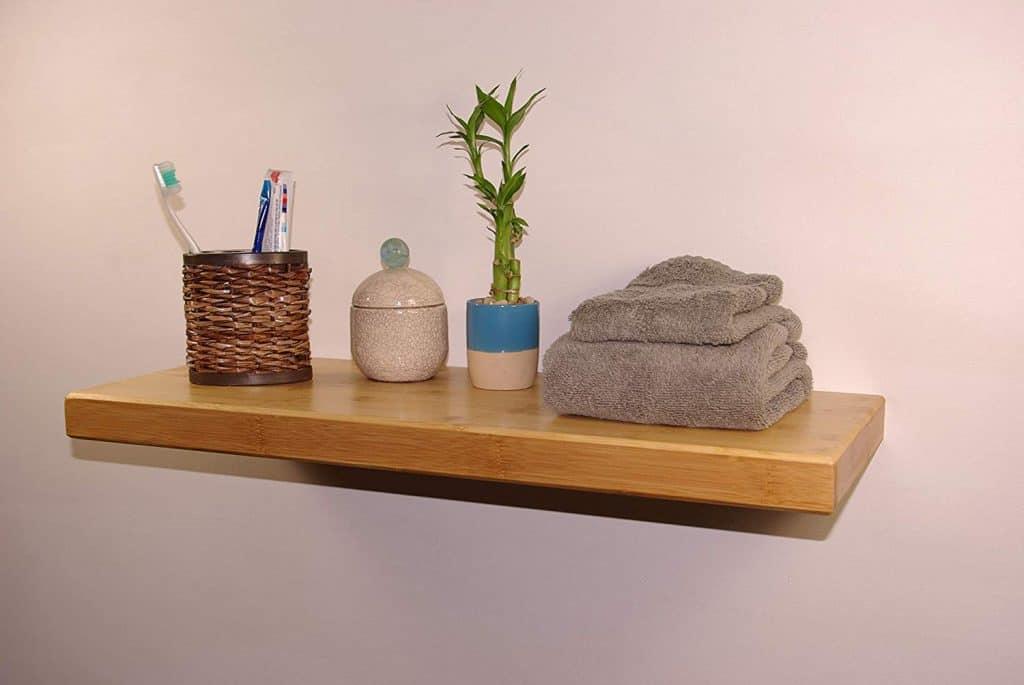 Bamboo Block Shelf