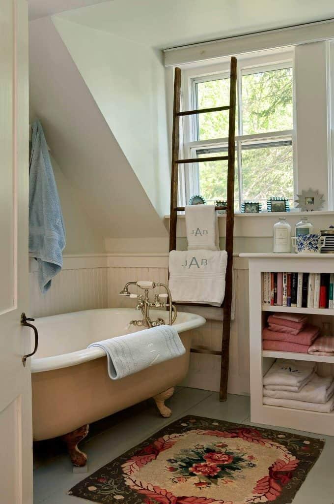 Drying Rack and Storage Shelf towel storage ideas