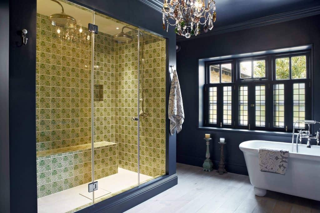 Yellow 70's Tile Design