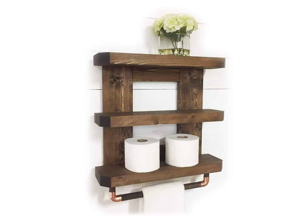 Rustic Wooden Rack and Rod