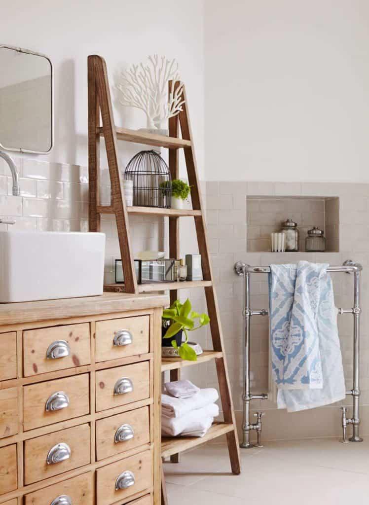 Metal Drying Rack for Towel Storage
