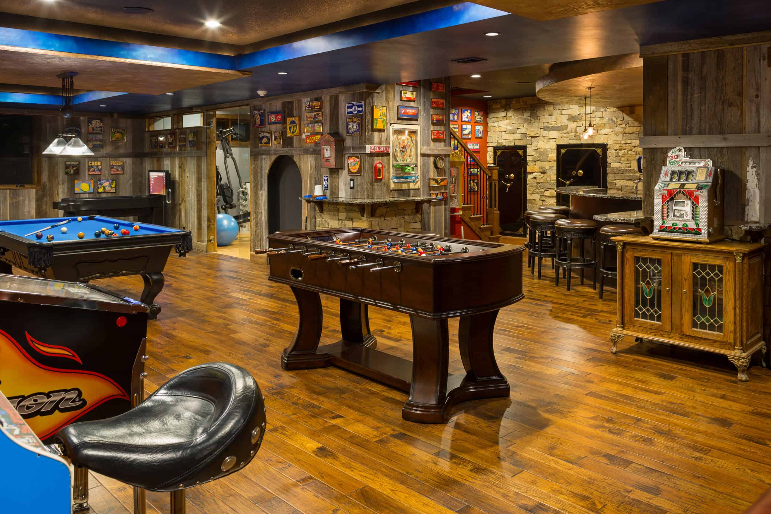 Add a Game Room to your Basement