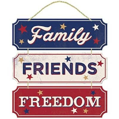 Amscan Americana Fourth of July Party Friends Decoration