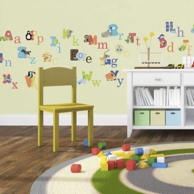 Animal Alphabet Baby Nursery