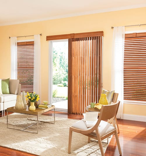 Bali® Northern Heights Wood Vertical Blinds
